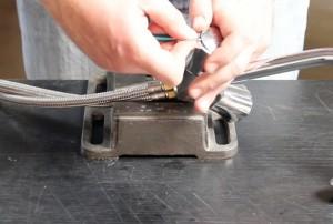 tete melangeur etape 1 enlever capuchon mélangeur