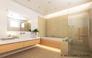 salle de bain baignoire siège de douche