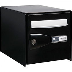 Boîte aux lettres noire double face probox decayeux